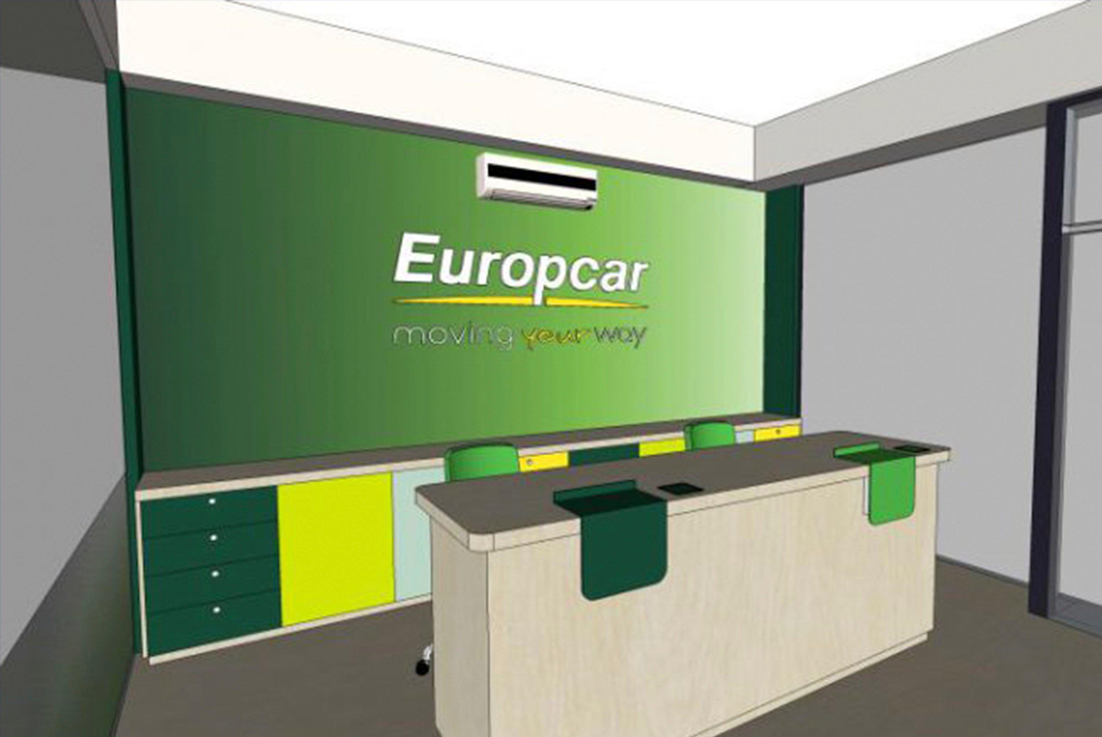 Europcar artwork for website page